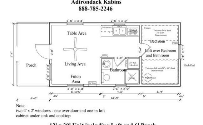 12 X 30 Floor Plan Tiny House Pinterest House