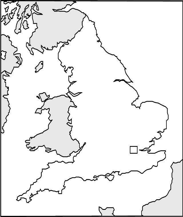 abcteach Printable Worksheet: Maps: Blackline: England