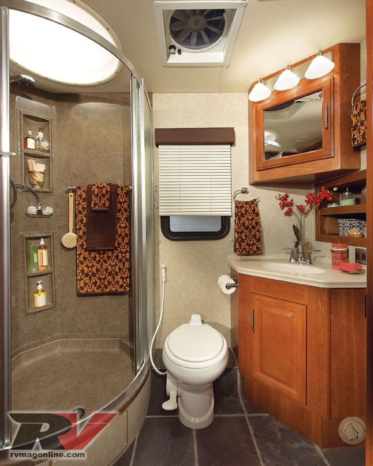 1000 ideas about Rv Bathroom on Pinterest  Camper Bathroom Bus Conversion and Rv Recliners