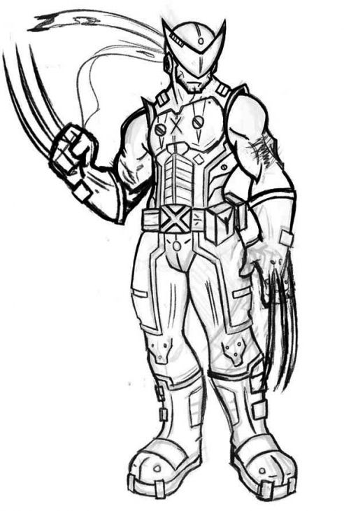 1 best images about superheroes coloring pages on