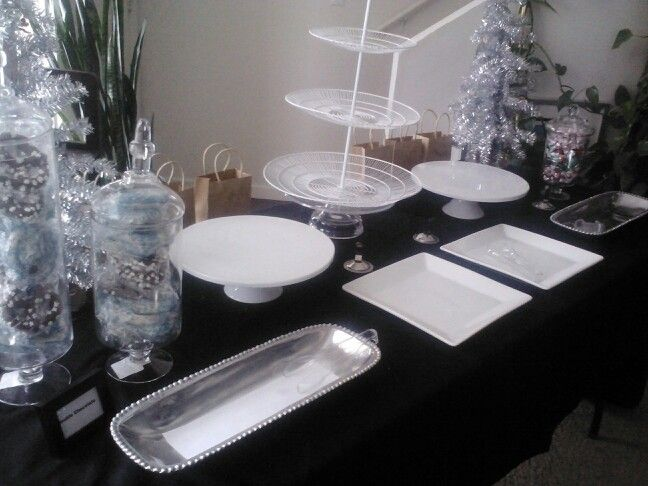 Dessert Table layout  Treats by Angelique  Pinterest  Desserts Tables and Dessert tables