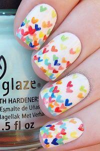 Best 25+ Heart nail art ideas on Pinterest | Heart nails ...