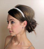updo with headband ideas