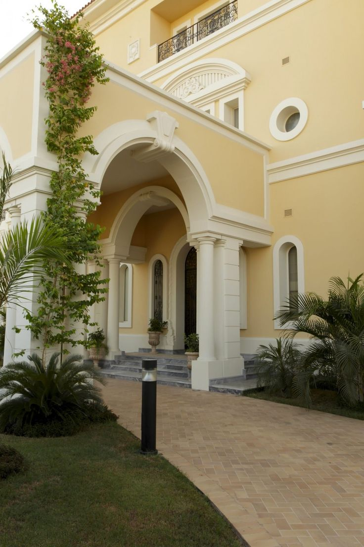 Stucco Colors For Wall Design In Your Home Exterior Brick