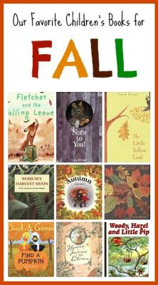 Fall themed picture books perfect for toddlers, preschoolers and primary grades! (Our Favorite Children's Books for Fall)~ buggyandbuddy.com: