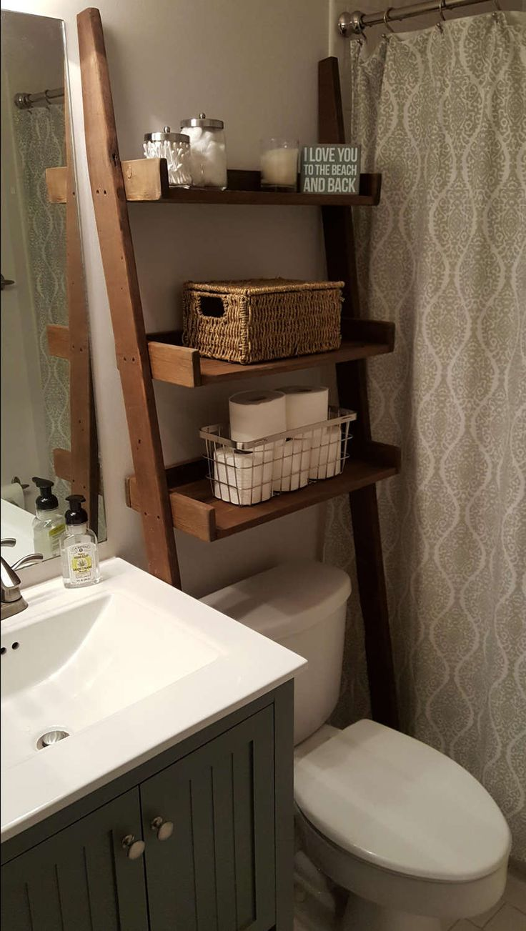 17 Best ideas about Shelves Over Toilet on Pinterest