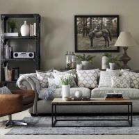 1000+ ideas about Grey Leather Sofa on Pinterest   Leather ...