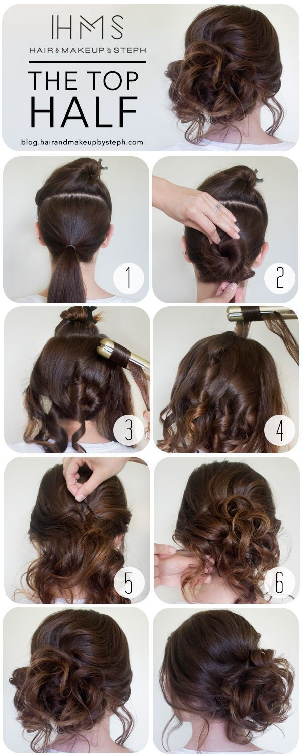 25 Best Ideas About Prom Hair Tutorial On Pinterest Updo