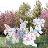 25+ best ideas about Outdoor easter decorations on