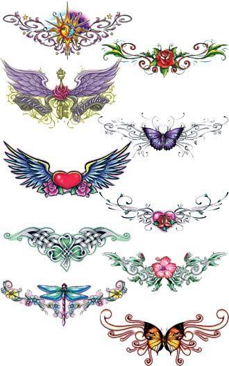 tramp stamp tattoos ideas