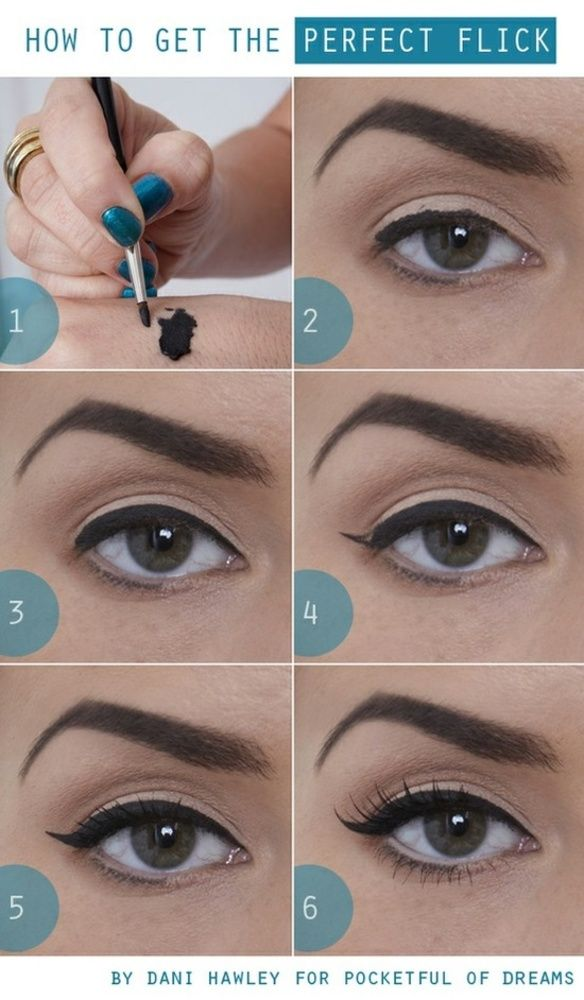 how to get the perfect flick: the easiest way to do a basic wing