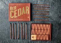 If you don't have a fireplace, this red cedar incense can ...