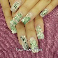 Dollar bill........ | Nail Art Collectibles | Pinterest ...