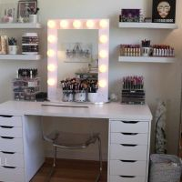 25+ Best Ideas about Ikea Makeup Vanity on Pinterest