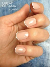 Cute short nails #mani #manicure -short nails -real nails ...
