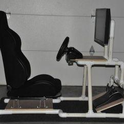 Racing Simulator Chair Plans Grey Stool Diy Photos