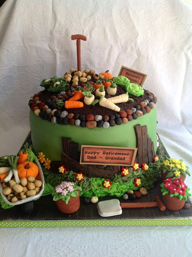470 Best Images About Garden Cakes On Pinterest Gardens Garden