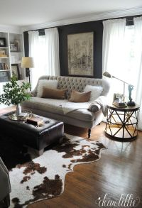 cowhide rug design ideas | Roselawnlutheran