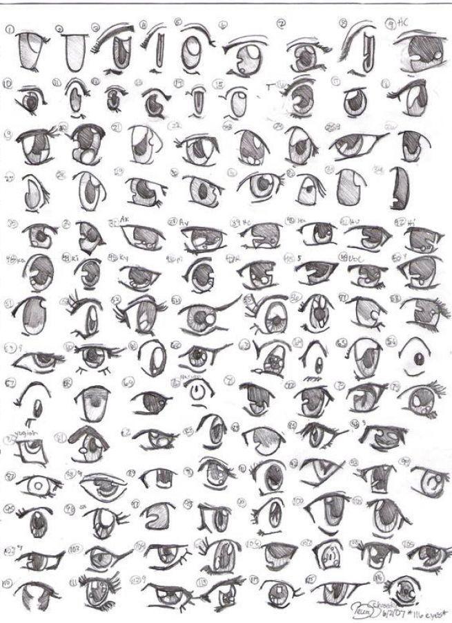 Die Besten 25 Manga Augen Ideen Auf Pinterest