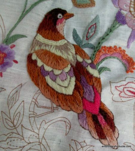 Image result for Crewel Embroidery  public domain