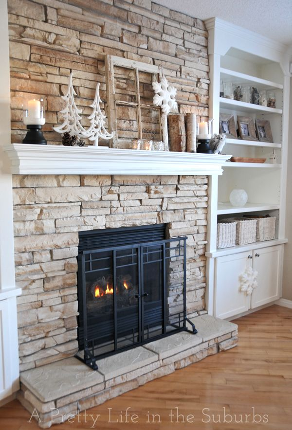 1000+ ideas about Stone Fireplaces on Pinterest