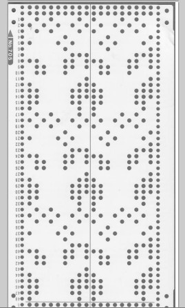 75 best images about Knitting punch card on Pinterest