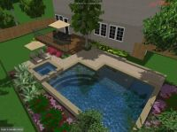 small inground pools for small yards | ... Austin IGP/Spa ...