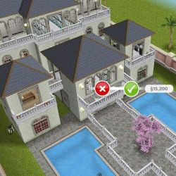 sims freeplay houses balcony mansion inspo play level lego idea backyard floor simsfreeplay anniversary designed player mansions dream
