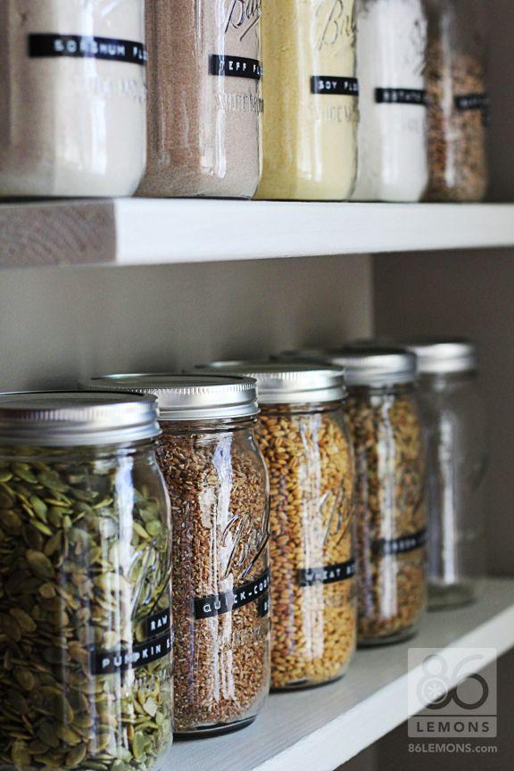 Best 20 Open Pantry ideas on Pinterest  Open shelving