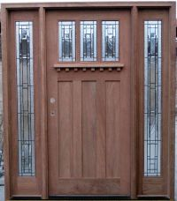 Craftsman Style Exterior Doors - Home Decor
