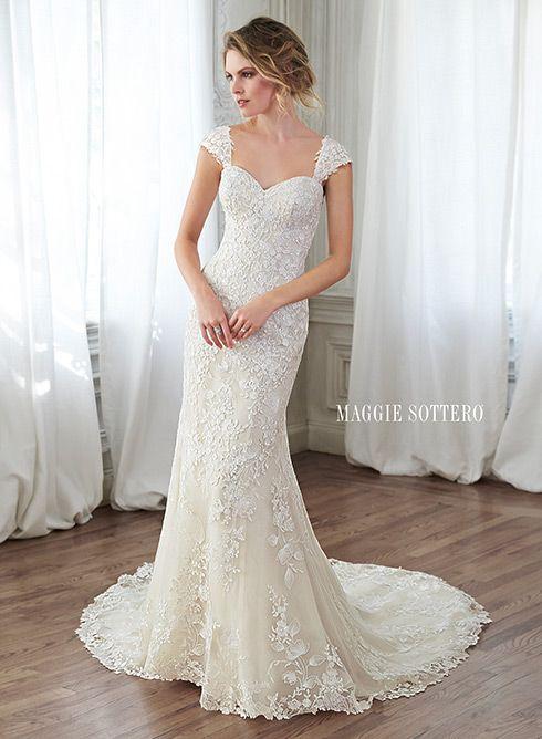 1000 ideas about Slim Wedding Dresses on Pinterest