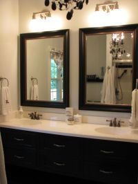 30 Brilliant Large Bathroom Mirrors Ideas