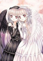 angel and devil anime couples