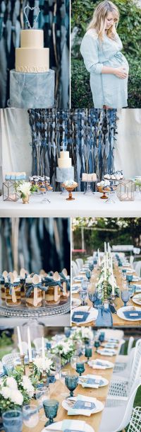 Melody Brandon's Blue Jeans Baby Shower | Just love, Cakes ...
