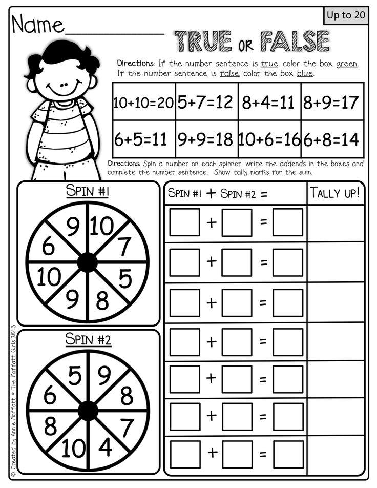 17 Best images about First Grade Math stuff on Pinterest