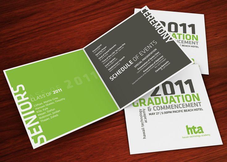Graduation Program Designs Google Search Commencement