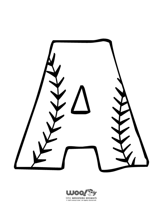 25+ best ideas about Baseball letters on Pinterest