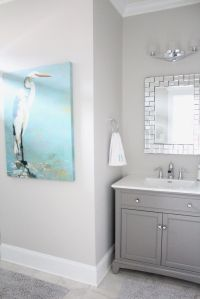 25+ best ideas about Gray bathroom paint on Pinterest ...