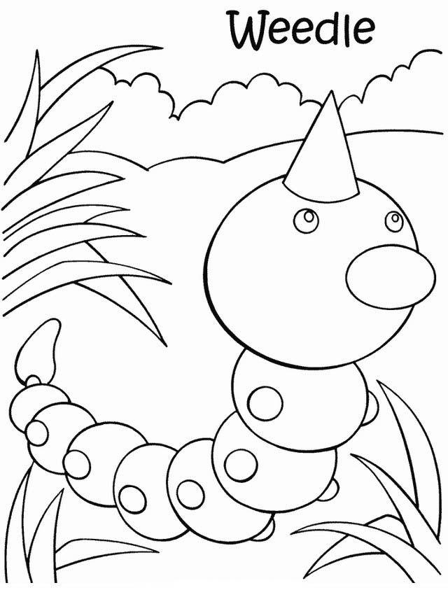 Pansage Pokemon Coloring Page