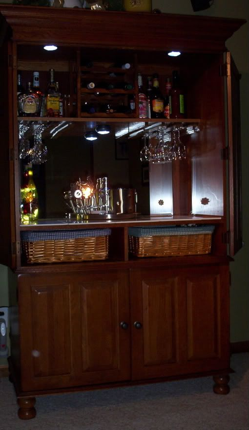 kitchen sliding baskets lights over table 17 best images about project convert tv armoire on ...