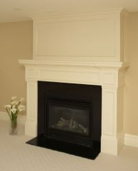 How To Build A Fireplace Mantel Shelf With Crown Molding