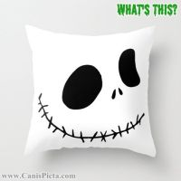 1 Jack Skellington Nightmare Before Christmas Throw Pillow ...