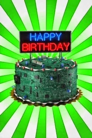 Food Art Geek Happy Birthday Cake From Funny