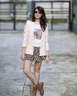 Look do dia: Blazer com coturno | Just Lia