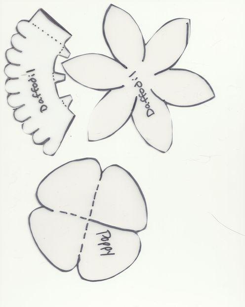 Daffodil Petal Template Mostrar todos los art culos