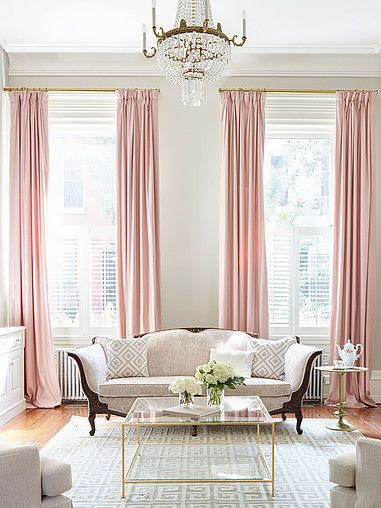 25 Best Ideas About Pink Curtains On Pinterest Pink Home