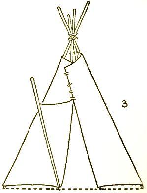 teepee native american drawings draw drawing step sketch americans