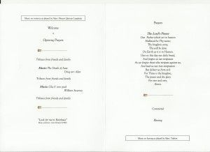 1000+ ideas about Funeral Order Of Service on Pinterest