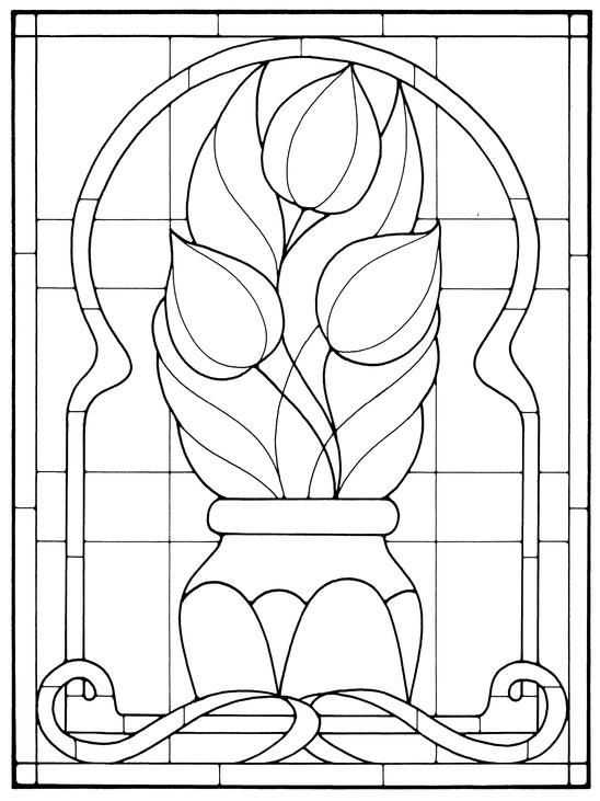 1000+ images about Stained Glass Flowers on Pinterest