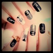 2016 edition chanel nail stickers